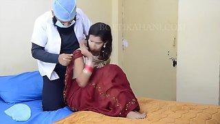 Indian Punjabi Doctor Fucks Bhabhi in Her Clinic