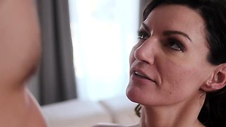Luscious Step Mom Lets It Flow