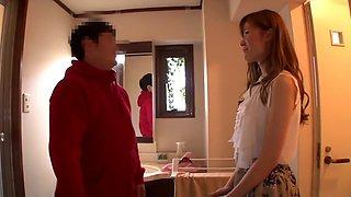 Yuna Hayashi in Happy Smile Amateur Home Visit Tour part 1