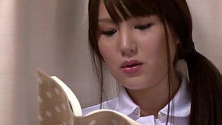Hottest Japanese whore in Best Nurse JAV clip