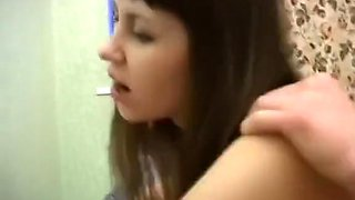 Threesome with drunk filthy college girl