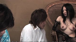 Sayoko Machimura is a totally naughty Japanese mistress and