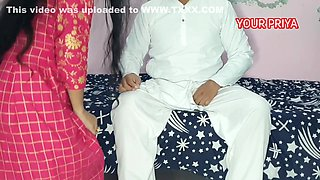 Everbest Indian Wife Fucked By Father In Law With Clear Hindi Voice