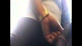 flashing groping on bus