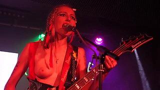 The soapgirls, topless music video