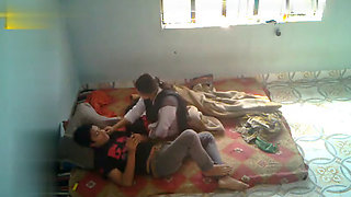 Desi medical College girl fucked on Hidden Cam by Friends