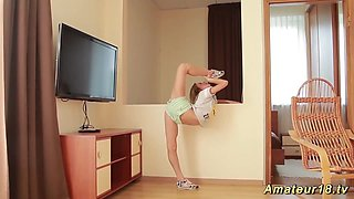 skinny real flexible teen contortion
