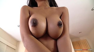 Thai Beauty Queen Gets Loaded With Creampie
