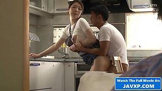 Amazing Japanese Mom And Stepson