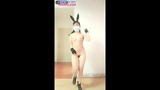 Asian Girl Webcam Nude Dance 02